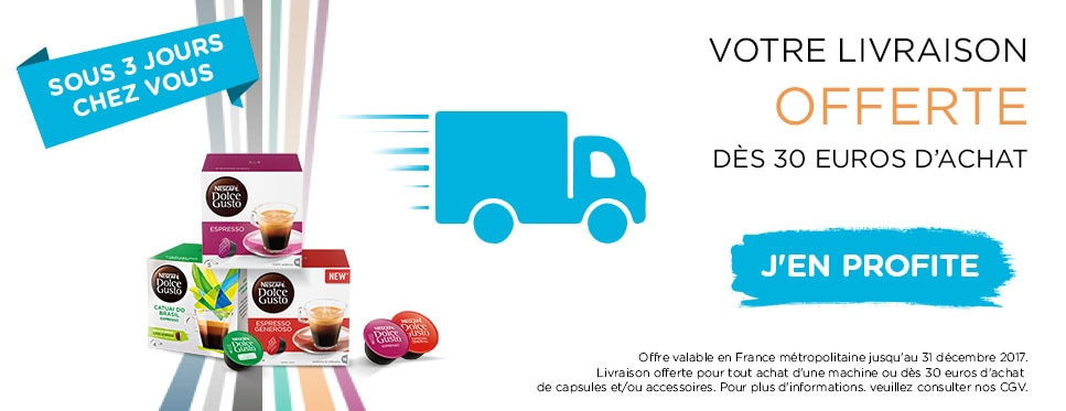 Free Delivery from 30 Euro