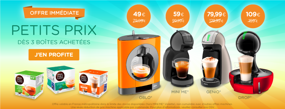 3 Boxes machine offer