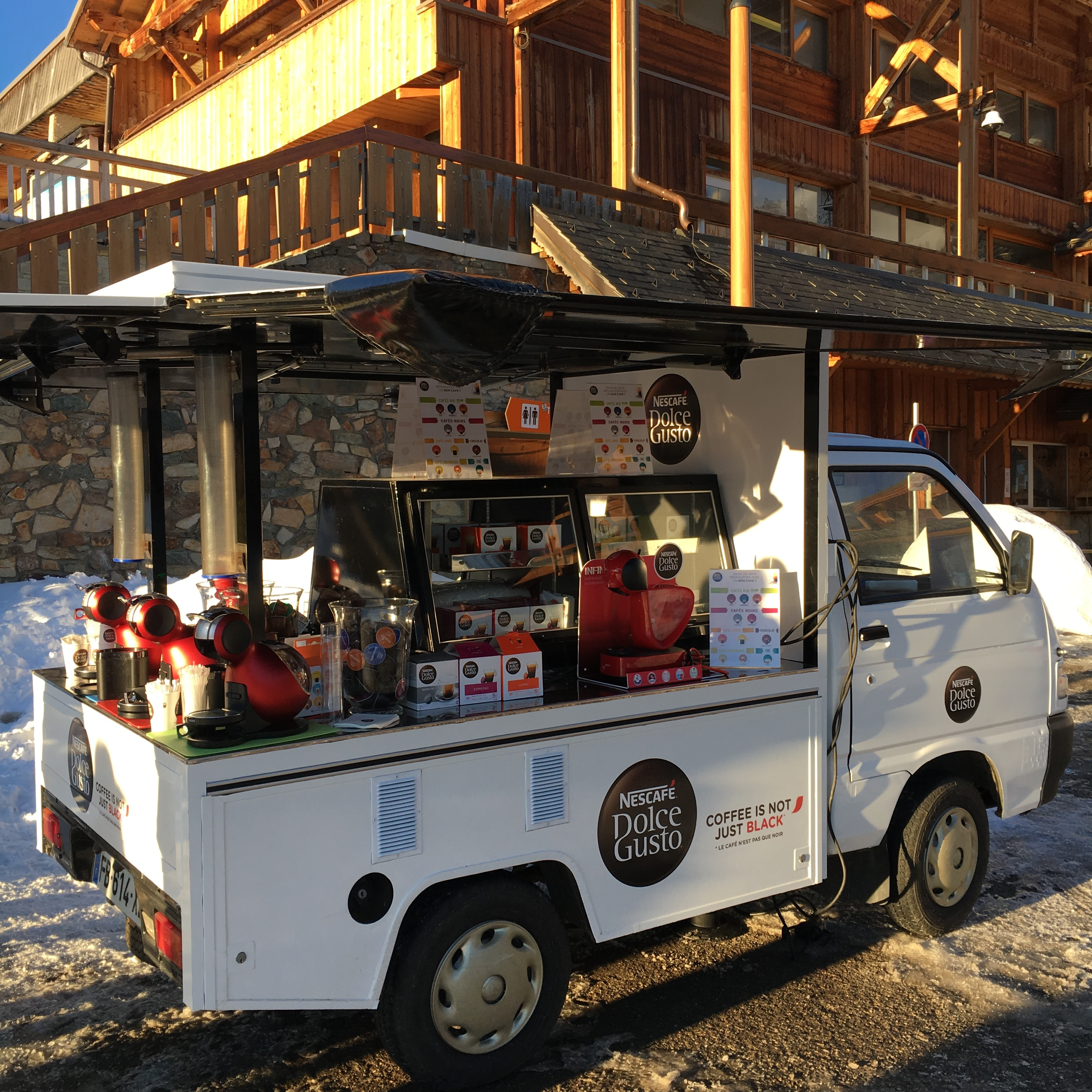 Coffee Truck Dolce Gusto